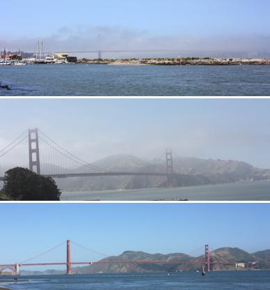 Und immer wieder die Golden Gate Bridge