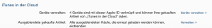 Ausgeblendete iBooks oder iTunes-Artikel wieder einblenden
