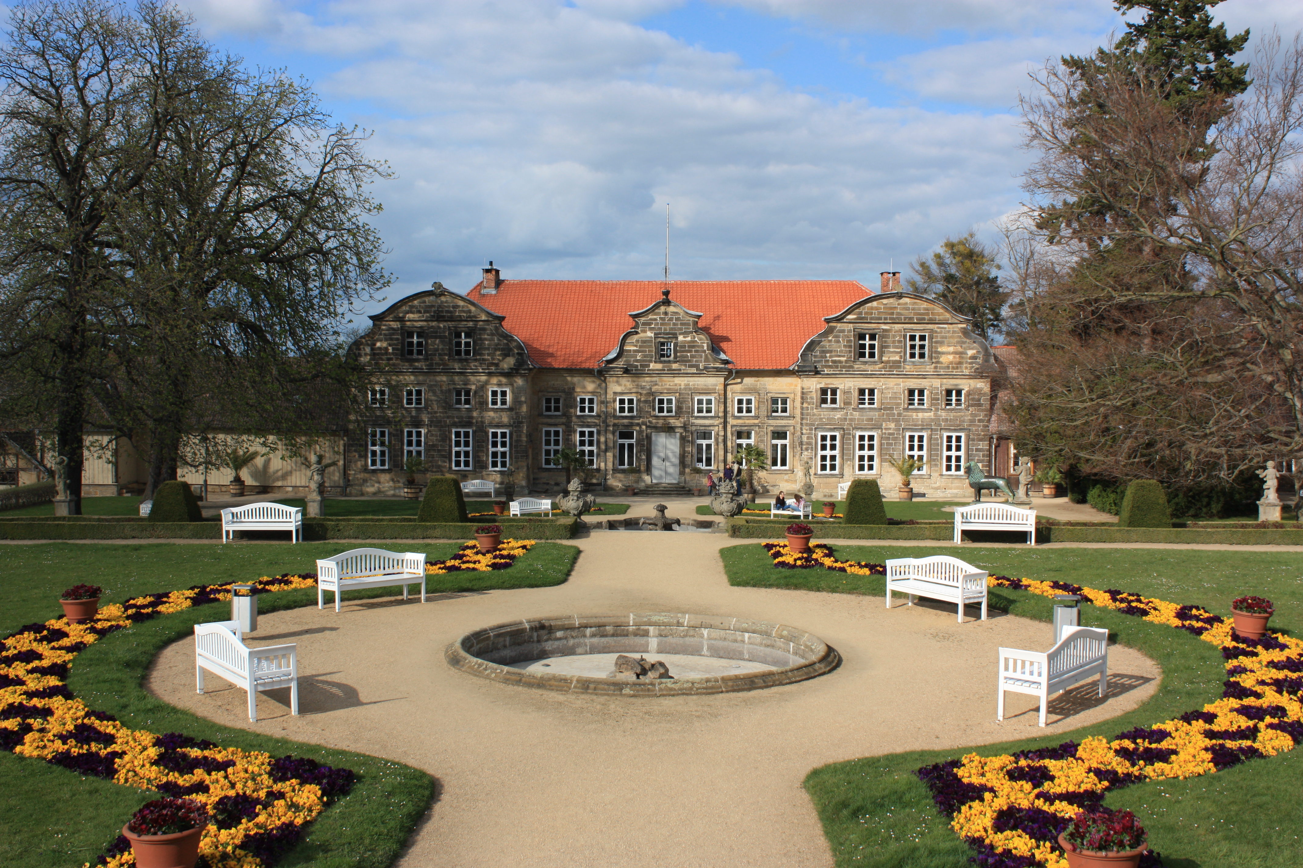 Barocke Gärten in Blankenburg