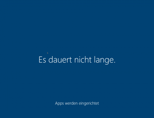 Windows 10 zickt unter Parallels