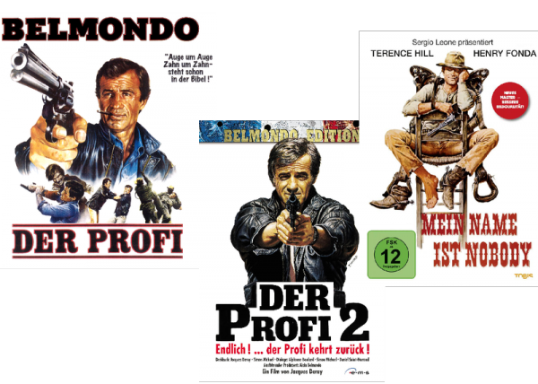 Die Bilder sind Cover bzw. Filmplakate der Filme