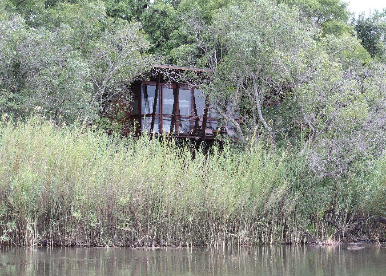 Ein Bungalow der Riverdance Lodge