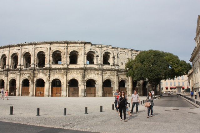 Amphitheater in Nîmes